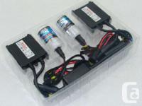 Each HID Kit Contains:  - 2 Xenon Bulbs - 2 Ballasts -