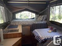 1992 XL Tent Trailor excellent condition, no mold no