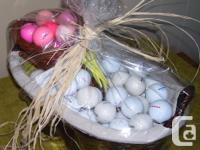 "GIFT BASKETS FOR THAT SPECIAL ""HARD TO BUY FOR"" GOLFER"