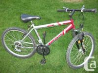 """19"""" structure 26""""alloy wheels 18 rate Great strong bike"""