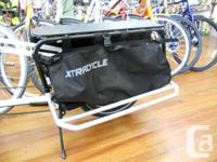 A pair of cargo bags for your Xtracycle or Free Radical