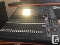 FOR SALE: - 1 X YAMAHA 02R96 DIGITAL MIXING CONSOLE - 1