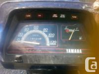 Make Yamaha Model Riva Year 1989 kms 16000 Was runnubg
