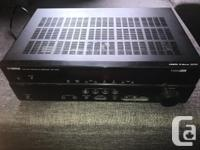 I am selling my surround sound receiver as I have