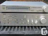 YAMAHA A-960 AMP AND T-300 TUNER. AMP HAS BEEN