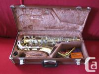 Yamaha alto sax used, this kit includes 1 complete