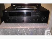Attractive Yamaha Stereo Receiver. featuring: Phono