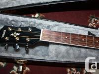 Mint condition, beautiful Yamaha acoustic electric with for sale  Saskatchewan
