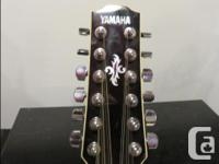 This is my Yamaha 12 string. It has a plug in for