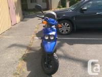 Make Yamaha Model Bws Year 2002 kms 23194 For sale is a