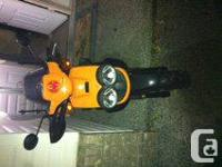 I have a 2005 Yamaha BWS Scooter for sale. With lots of