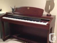 Selling because we bought an acoustic piano. This