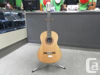 Money Maxx has a Yamaha Classical Guitar - Model C-40M
