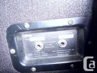 "Yamaha Club Series III Speakers. 15"" Speaker. Model#"