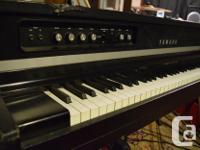 Rare Electro-Acoustic Piano. Original sustain pedal and