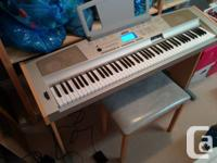 This full-size piano is in excellent condition and