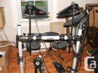 DTX500 Yamaha Electric Drums, a Roland PM-10 Screen as for sale  Ontario