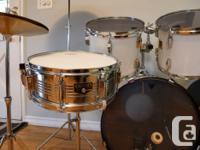I'm selling my white Yamaha V-power drum set. The set for sale  British Columbia