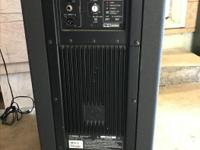 Active PA Speakers. 1300W of Class D Power. 138dB SPL. for sale  British Columbia