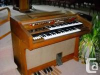 Yamaha Electone Organ Model D-2B Ser #5483 In need of a