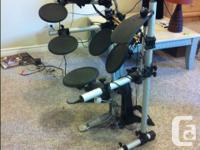 Yamaha DTXplorer electric drum set for sale. Excellent