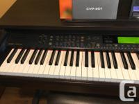 Clavinova CVP-201 Electric piano full keyboard, weighed