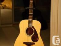 Hey there!  I'm selling my almost-new Yamaha FG700MS
