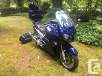 Make Yamaha Model Fjr Year 2005 kms 107000 This is a
