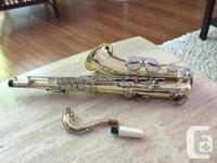 YAMAHA, Japan, YTS-23 TENOR SAXOPHONE With case and