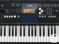 Yamaha keyboard for sale. Excellent condition, 2 yrs