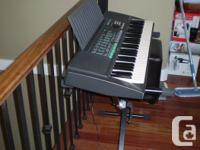 PSR-150 Electronic Yamaha Keyboard The piano is in