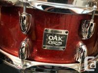 Hi Rich, deep sound, that only Oak can produce. Unique