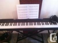 Yamaha P95 piano for sale in brand new condition. Never