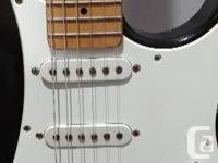 Yamaha Pacifica double cut away electric guitar