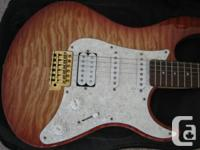 Almost Brand new Barley used Electric Guitar.    CALL