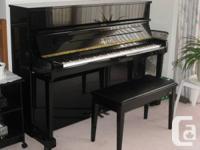 Beautiful Upright Yamaha Piano - model P116S serial #