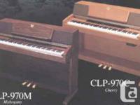 For sale - YAMAHA CLAVINOVA PIANO CLP - 970 C   •Wood, used for sale  British Columbia