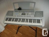 I am selling my Yamaha PSR-290 electronic keyboard. It
