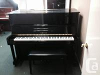 Yamaha U1 MP100 Silent piano made for Canada in 1995.