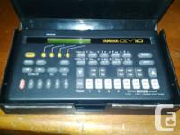 Yamaha QY10. Mobile music sequencer. Incredible little