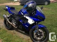 2003 Yamaha R6, just examined. excellent shape