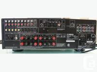 Yamaha HTR-5950 Receiver & Speaker System Runs great,