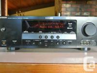 YAMAHA HTR-6030 AV Receiver & YAMAHA 5.1 Speakers &