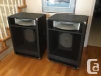 PRESENTLY USING THESE YAMAHA S4115H LOUDSPEAKERS ON MY