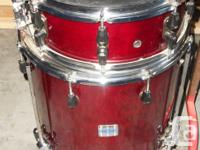 Yamaha Stage Custom Drum Kit, 5 Piece with additional for sale  British Columbia