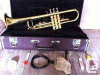 Yamaha Trumpet for sale. Great condition. Comes with