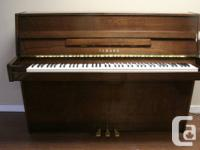 "This Japan Made Yamaha 43"" Piano, LU-101 Model, Serial"