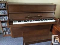 $500. OBO Moving and must sell my piano. It is in very