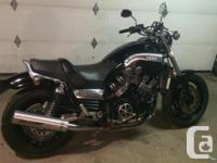 Make Yamaha Year 1997 Yamaha V-max 1200. Comes with