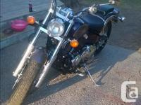 Hello, I am selling my Yamaha V Star Custom 650, that